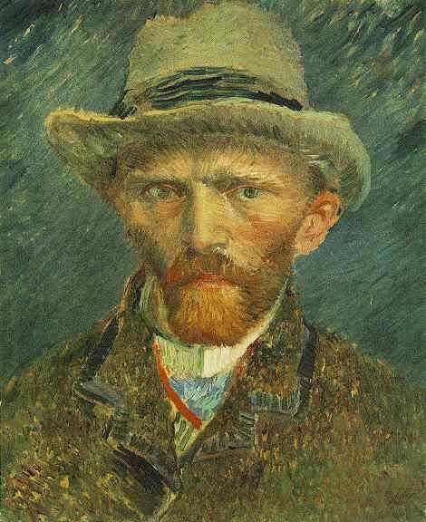 Van Gogh otoportre 1886-87 Rijksmuseum
