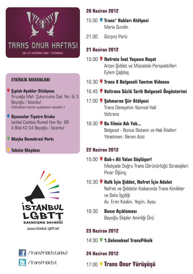 trans onur haftasi