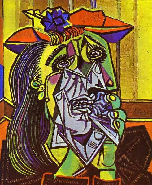 Pablo-Picasso-Weeping-Woman-with-Handkerchief-1937_491x600
