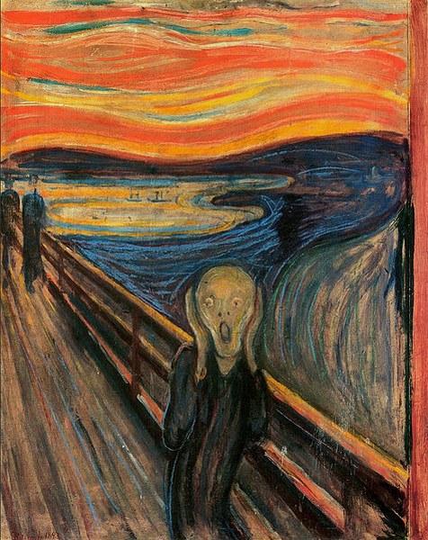 Edvard Munch-The Scream-Çığlık