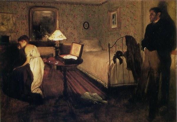 Edgar Degas, Le Viol