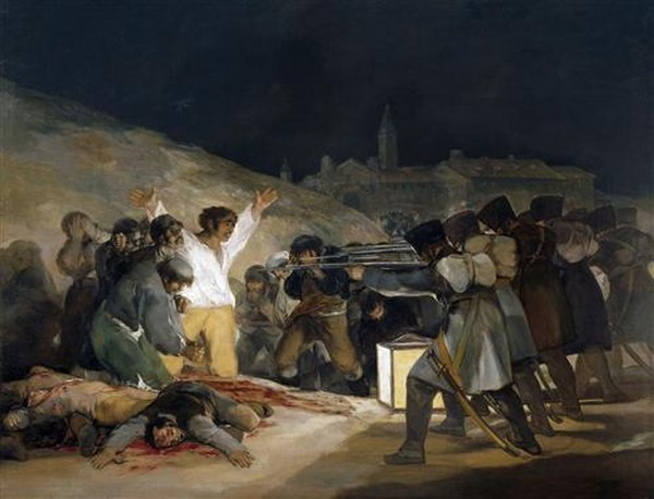 Francisco Goya - Inquisition Scene - 1819