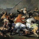 Francisco Goya - The Second of May 1808 The Charge of the Mamelukes - 1814