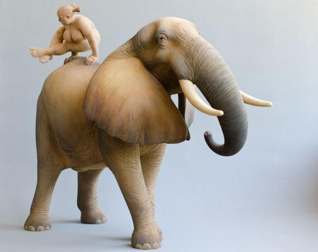 Matthias Verginer - Dancing Down an Elephant