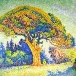 Paul Signac, The Pine Tree at St_ Tropez