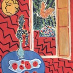 Henris Matisse - Red Interior, Still on a Blue Table