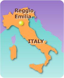 Reggio Emilia - Harita