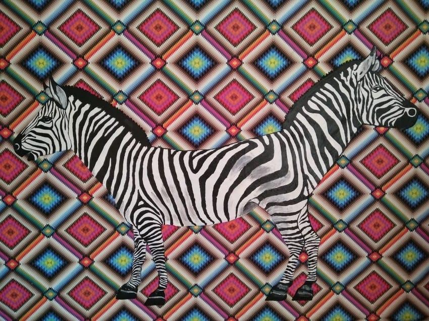 Genco Gülan - Zebra, 2016