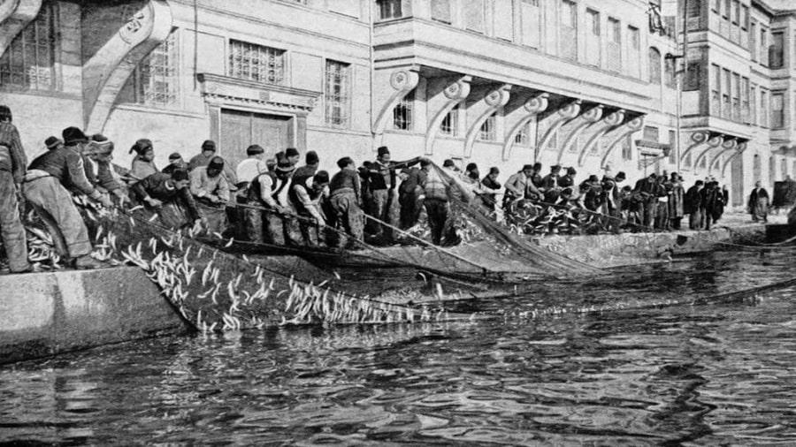 Eski İstanbul - Balıkçılar