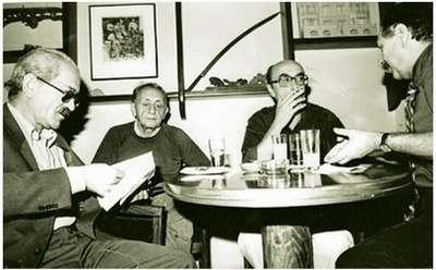 Ece Ayhan, İlhan Berk, Edip Cansever, Ahmet Oktay