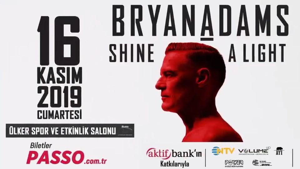 Bryan Adams konseri - İstanbul, Ataşehir