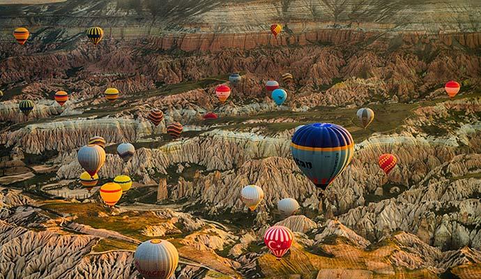 Kapadokya ve Balonlar - 4